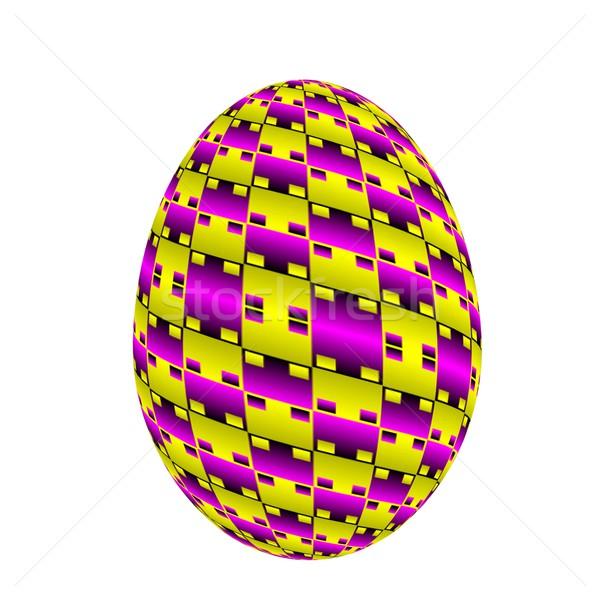 イースターエッグ 白 イースター 春 デザイン 卵 ストックフォト © Guru3D