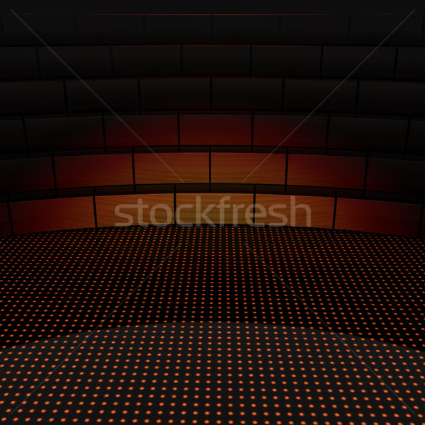 abstract scene with tribune  Stock photo © Guru3D