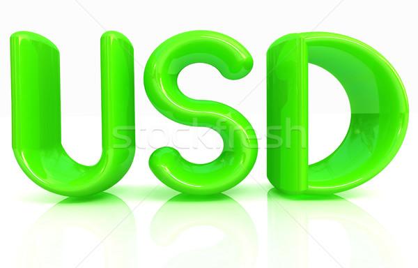 USD 3d text Stock photo © Guru3D