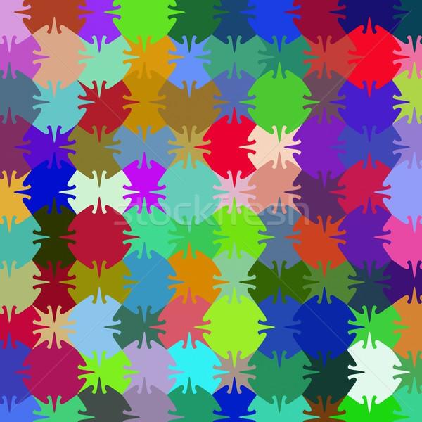 Puzzle minta absztrakt háttér támogatás játék Stock fotó © Guru3D