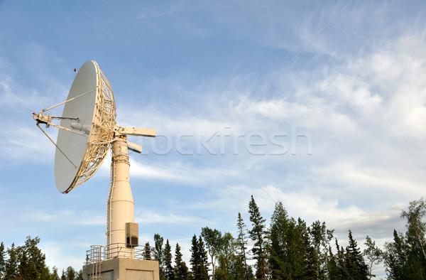Satellite Communications Dish Stock photo © gwhitton