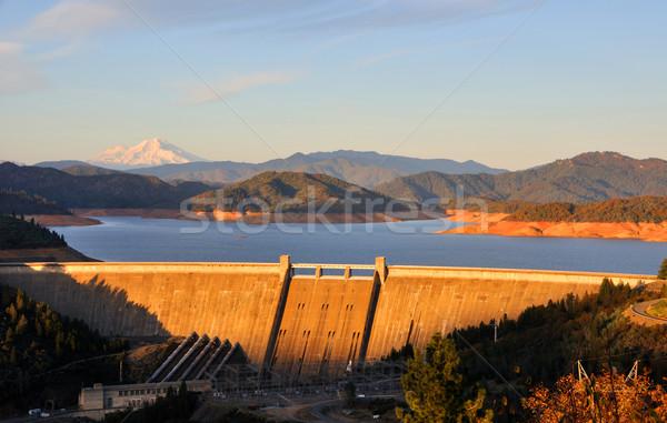 湖 北方 カリフォルニア 道路 森林 山 ストックフォト © gwhitton