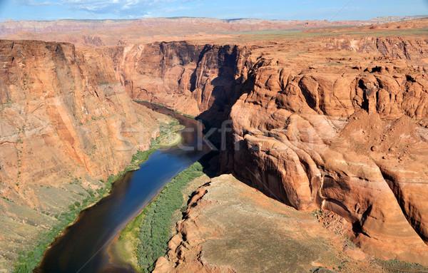 Bend in the Colorado River Stock photo © gwhitton