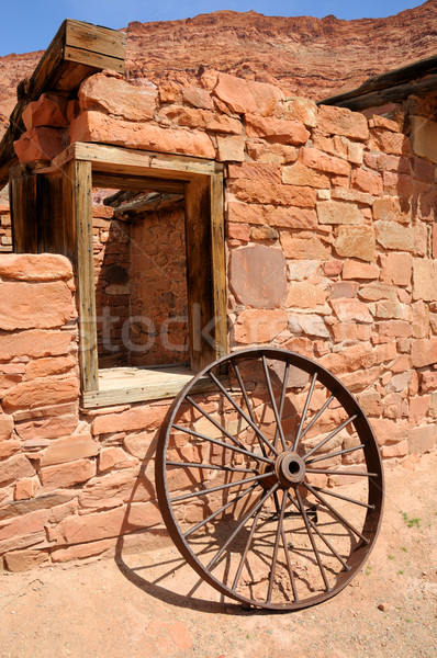 Lees Ferry Historic Building - Glen Canyon National Recreation Area  Stock photo © gwhitton