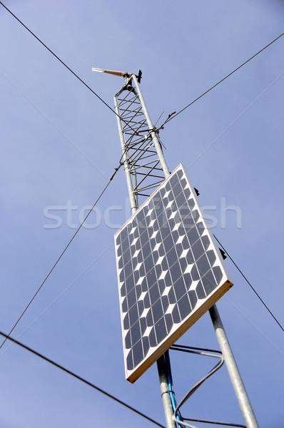 天気 駅 空 緑 エネルギー ストックフォト © gwhitton