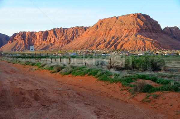 Sandstone Hills - Saint George, Utah Stock photo © gwhitton