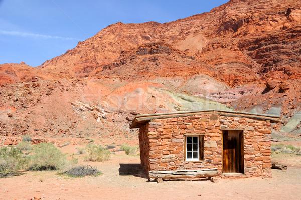 Сток-фото: каменные · кабины · паром · каньон · отдых · небе