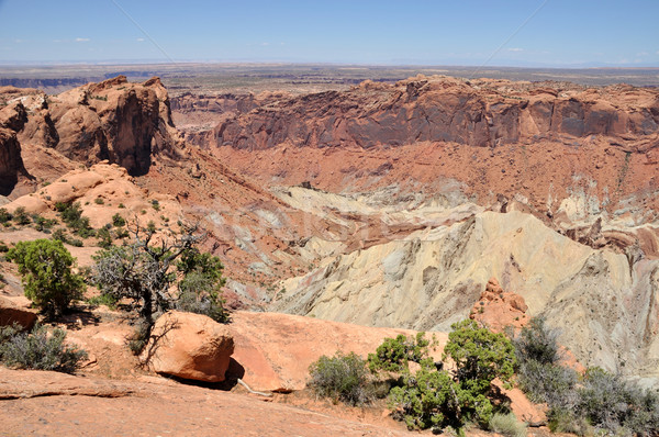 Upheaval Dome in Canyonlands National Park  Stock photo © gwhitton