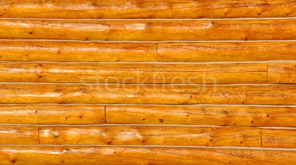 キャビン 壁 家 木材 建設 自然 ストックフォト © gwhitton
