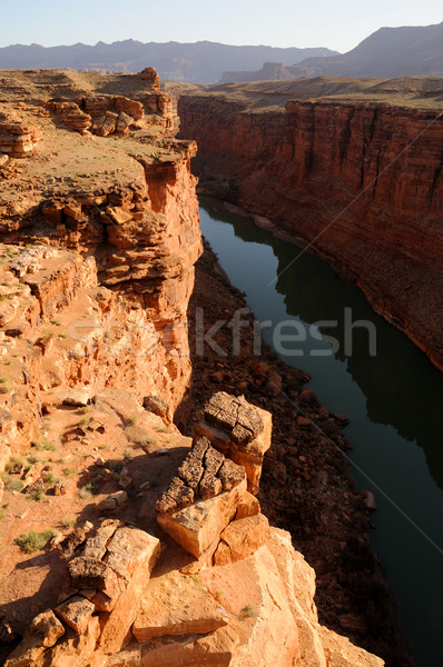 Sunrise over Marble Canyon Stock photo © gwhitton