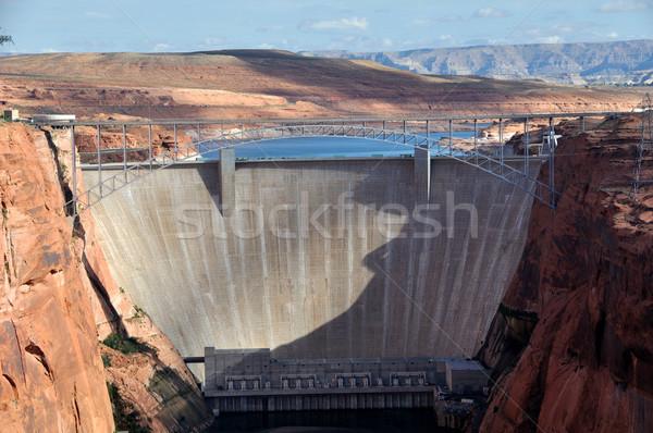 Kanion Colorado rzeki budowy pustyni podróży Zdjęcia stock © gwhitton