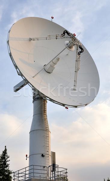 衛星 コミュニケーション 皿 インターネット 世界 地球 ストックフォト © gwhitton