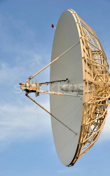 Műhold távközlés edény internet világ Föld Stock fotó © gwhitton