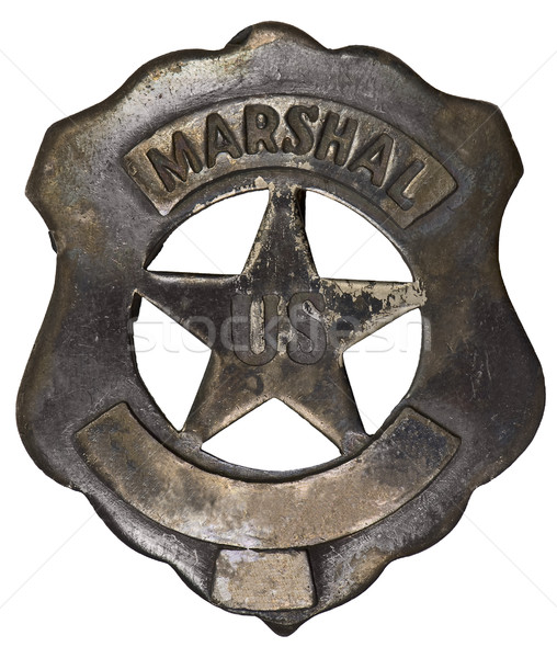 Authentic US Marshall Badge Stock photo © Habman_18