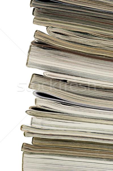 Magazine ends Stock photo © Habman_18