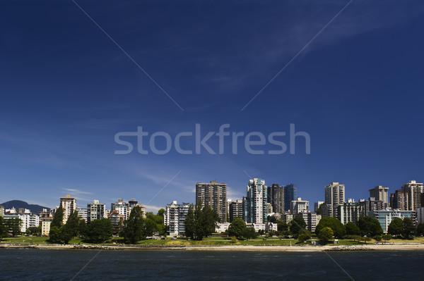Yeşil uzay Vancouver plaj ağaç Stok fotoğraf © Habman_18