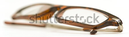 Folded reading glasses Stock photo © Habman_18