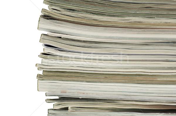 Revista horizontal imagem coluna Foto stock © Habman_18