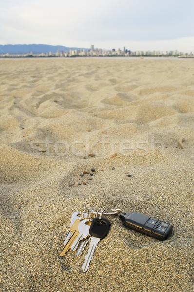 Perdido teclas praia atrás areia praia Foto stock © Habman_18