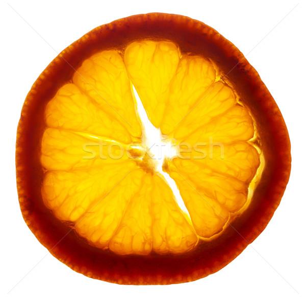 Mandalina dilim olgun doku meyve turuncu Stok fotoğraf © Habman_18