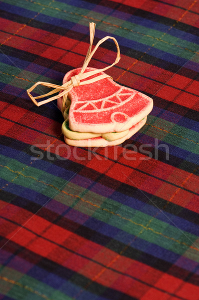 Christmas shortbreaad cookies Stock photo © Habman_18