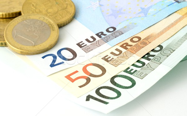 Euro currency Stock photo © hamik