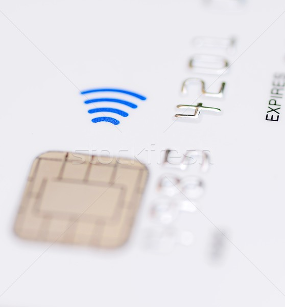 Contactless credit card Stock photo © hamik