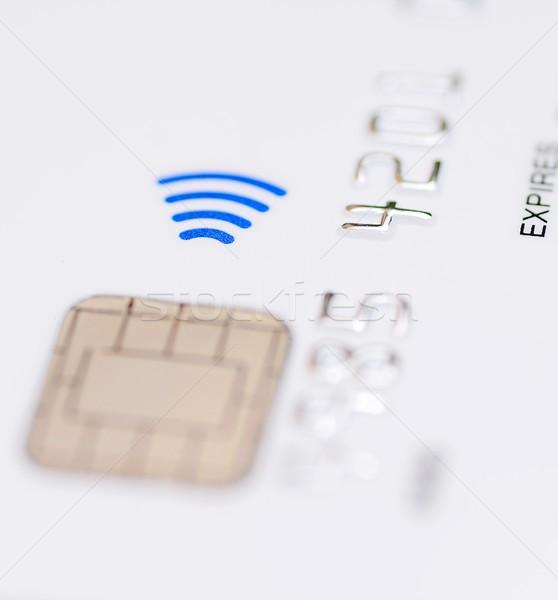 Contactless credit card Stock photo © hamik