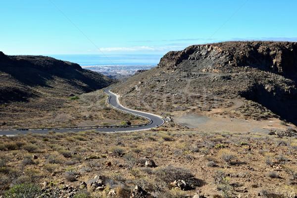 Mountains of Gran Canaria Stock photo © hamik
