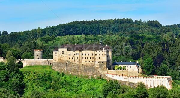 Cesky Sternberk castle Stock photo © hamik