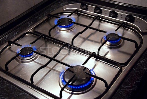Kitchen stove Stock photo © hamik