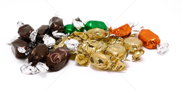 Packed candies Stock photo © hamik