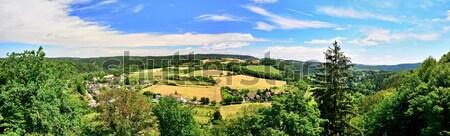 Doğa panorama panoramik görmek güzellik bohem Stok fotoğraf © hamik