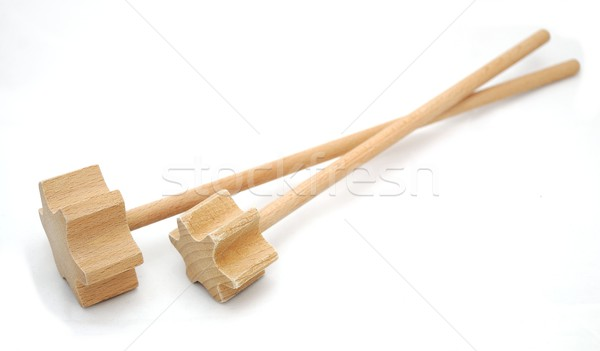 Wood beater Stock photo © hamik