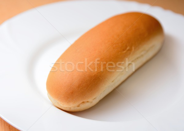 Plain hot dog bun Stock photo © hamik