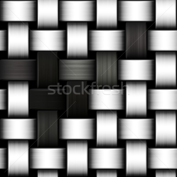Grayscale knitted background Stock photo © hamik