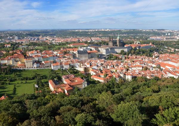Old town Prague Stock photo © hamik