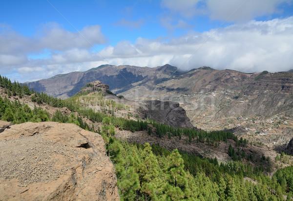 Gran Canaria mountain Stock photo © hamik