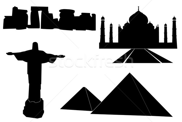 World monuments Stock photo © hamik