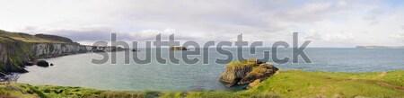 北方 アイルランド 海岸線 パノラマ 表示 海 ストックフォト © hamik
