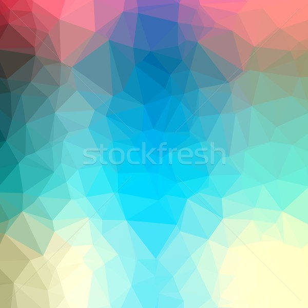 Polygonal background Stock photo © hamik