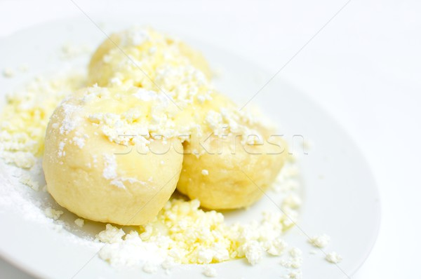 Fruits fromages sucre fondu beurre blanche Photo stock © hamik