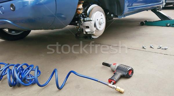 Tyre replacement Stock photo © hamik