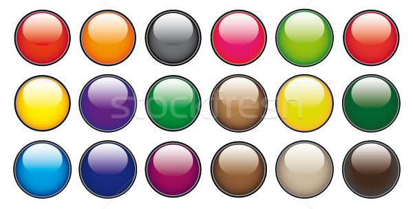 Stock photo: Web buttons