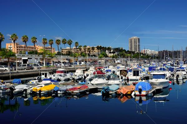 Port of Las Palmas Stock photo © hamik