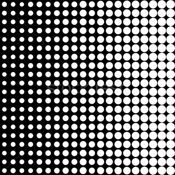Egyszerű halftone feketefehér monokromatikus textúra absztrakt Stock fotó © hamik