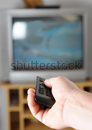 TV remote control Stock photo © hamik