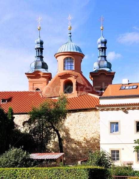 チャペル 丘 プラハ チェコ共和国 庭園 アーキテクチャ ストックフォト © hamik