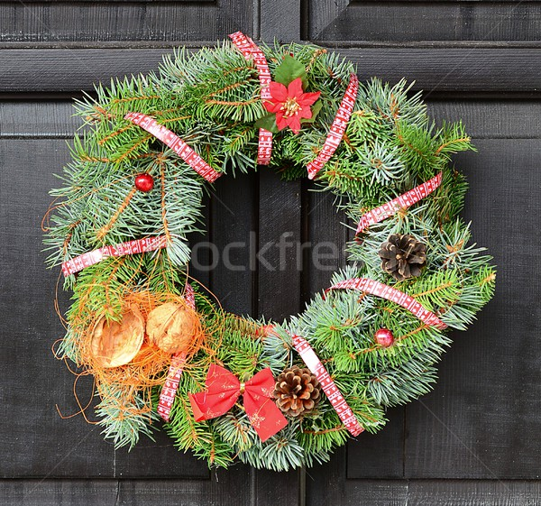 Christmas wreath Stock photo © hamik