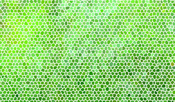 Green mosaic illustration Stock photo © hamik